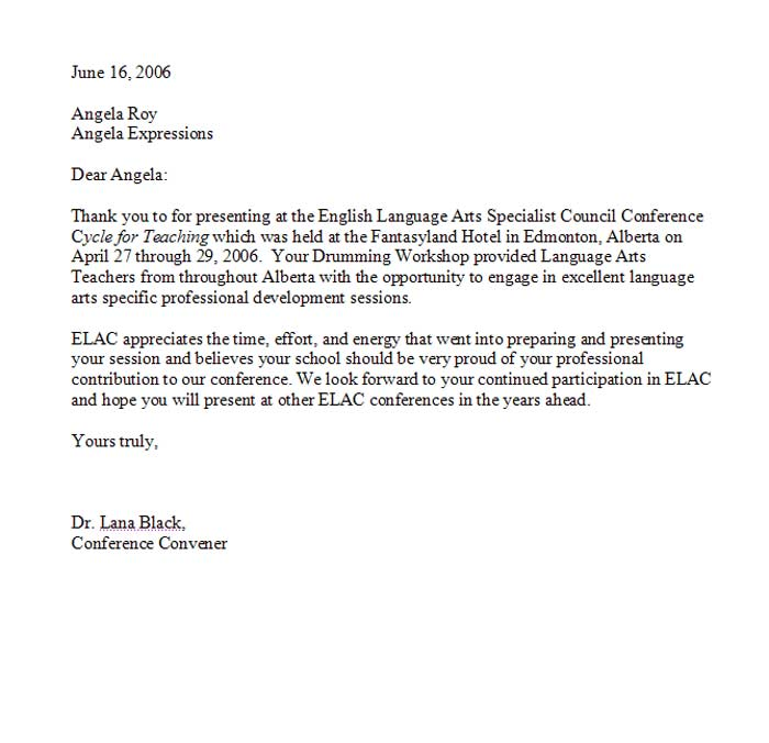 Letters Of Recommendation For Student Teaching